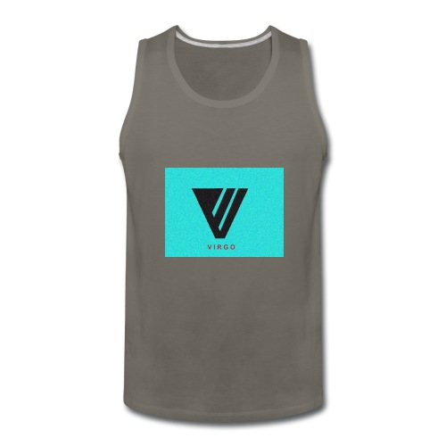 Virgo : Color - Men's Premium Tank