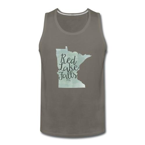 Red Lake Falls Long Sleeve Shirt - Men's Premium Tank