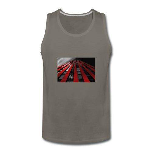 red, black & white - Men's Premium Tank