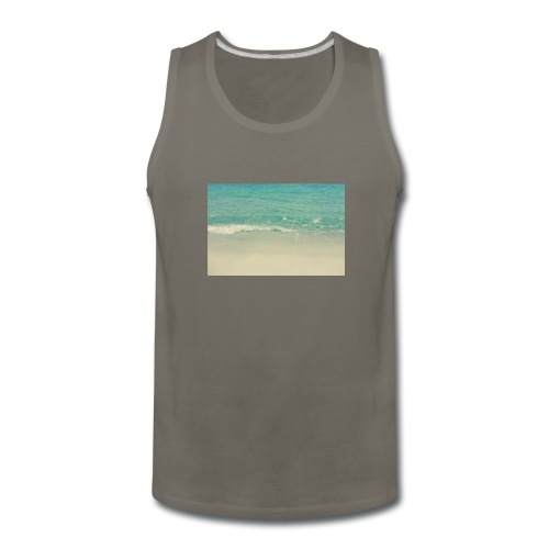 Love the beach. - Men's Premium Tank