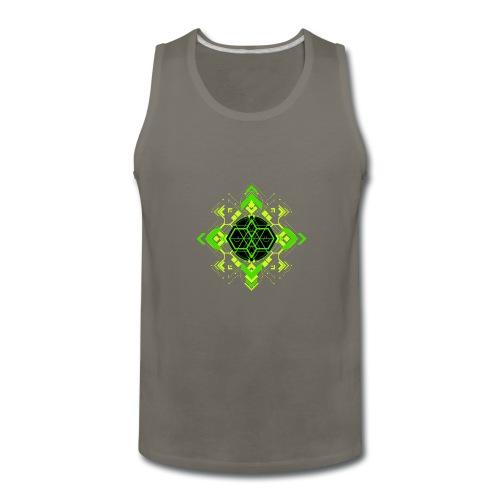 Design2_green - Men's Premium Tank