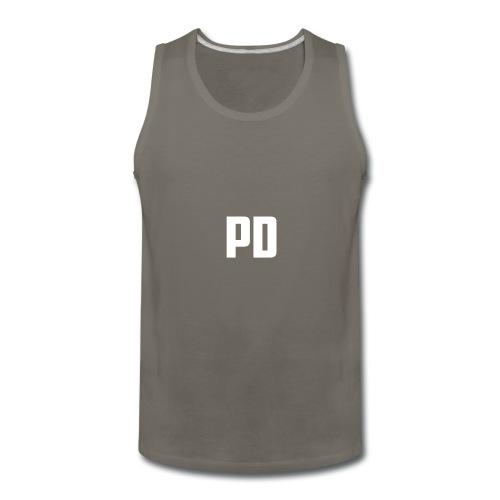 POWdrummer's Logo Shirt - Men's Premium Tank