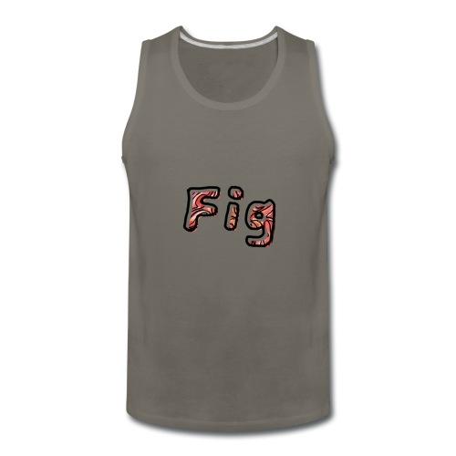 Fig Logo - Men's Premium Tank