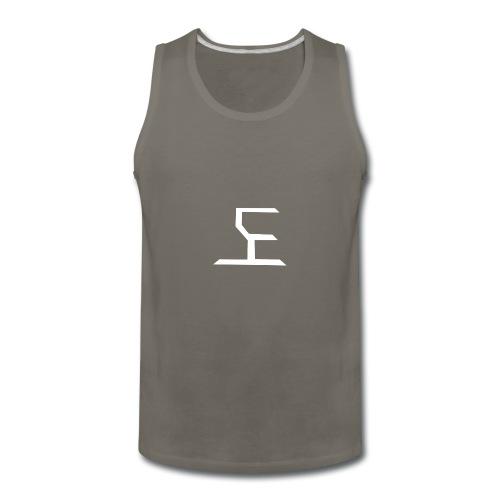 white SaKe logo - Men's Premium Tank