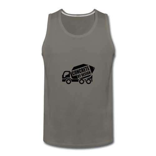 ConcretebyDesign - Men's Premium Tank
