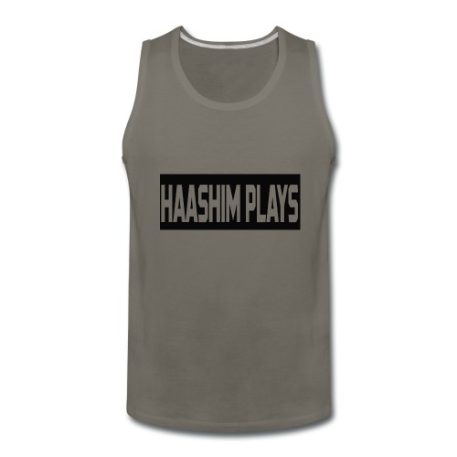 Haashim Plays - Men's Premium Tank