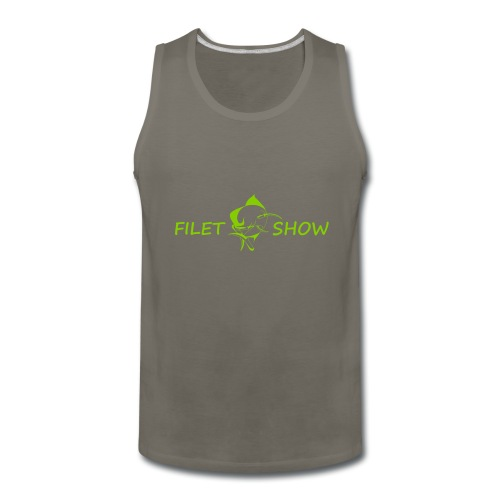 Green_logo_for_shirts - Men's Premium Tank