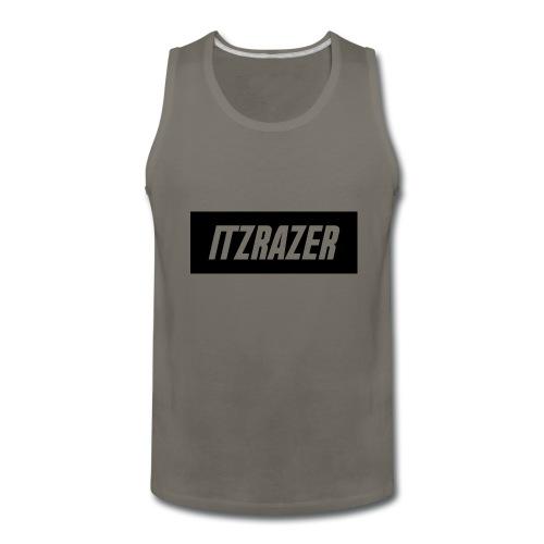 ITZRAZER LOGO - Men's Premium Tank