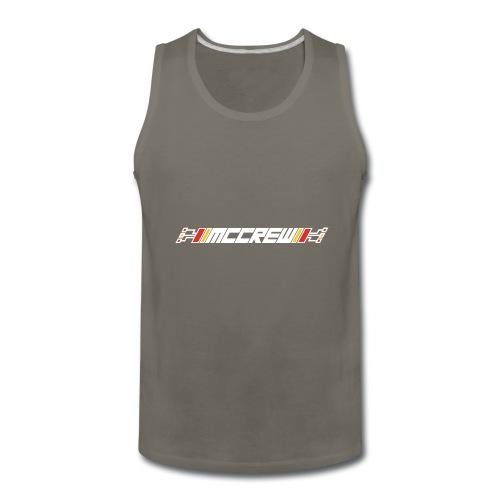 MCCREW back logo - Men's Premium Tank