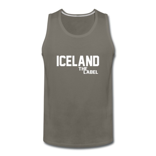 iceland_the_label_printable - Men's Premium Tank