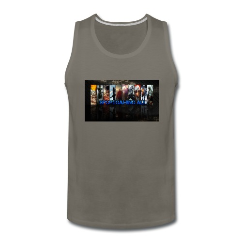 SportGaming Ali - Men's Premium Tank