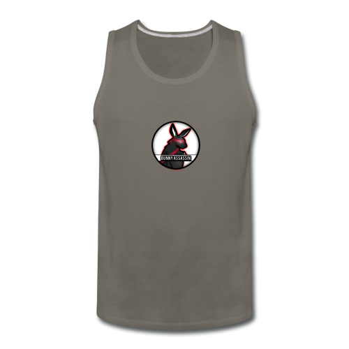 Bunny Assassin Logo - Men's Premium Tank