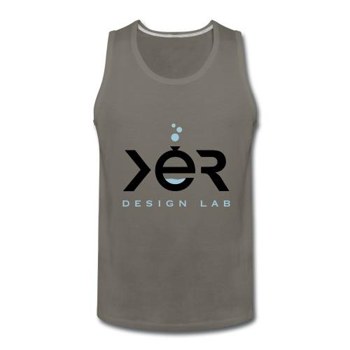 xer logo black - Men's Premium Tank
