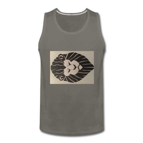 King Broccoli Logo - Men's Premium Tank