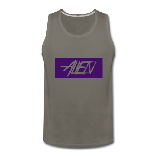Alien-word-logo - Men's Premium Tank