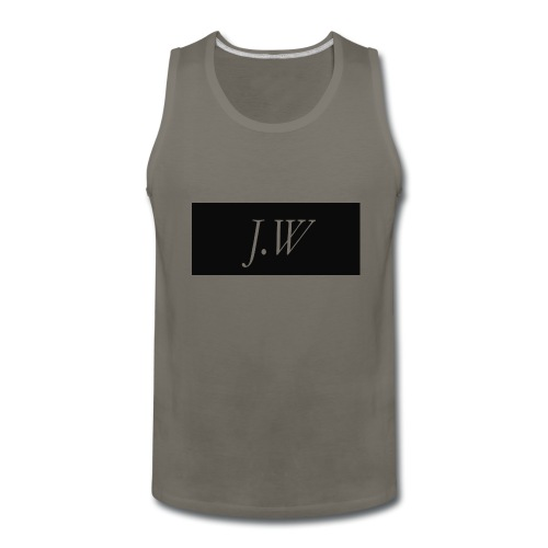 j-w_shirt_ - Men's Premium Tank