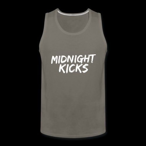 Midnight Kicks Logo - Men's Premium Tank
