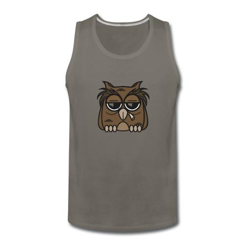 Smoking Owl - Men's Premium Tank