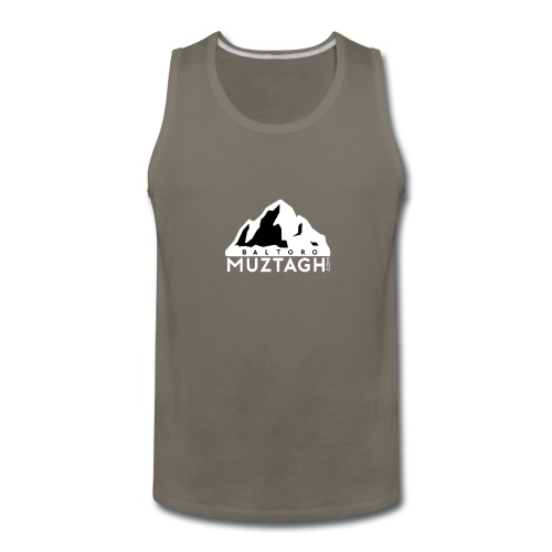 Baltoro_Muztagh_White - Men's Premium Tank