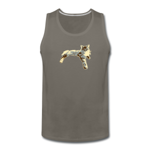 Sassy Cat - Men's Premium Tank