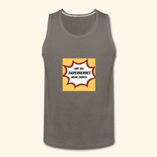 superhero no cape - Men's Premium Tank