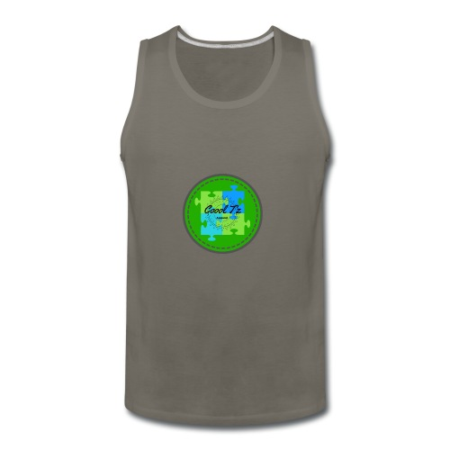 Coool T'z Green - Men's Premium Tank