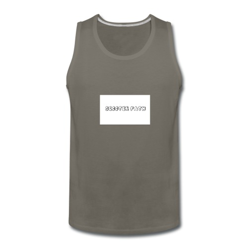 scooter path - Men's Premium Tank