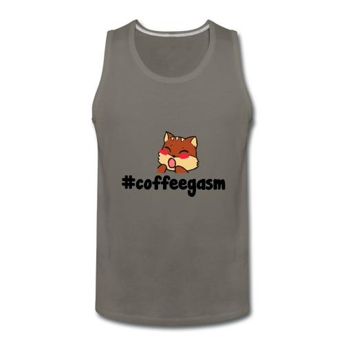 #CoffeeGasm Chiprel - Men's Premium Tank