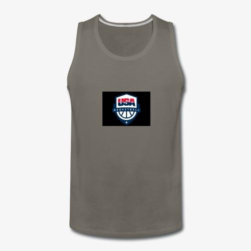 Team USA phone cases or shirts - Men's Premium Tank