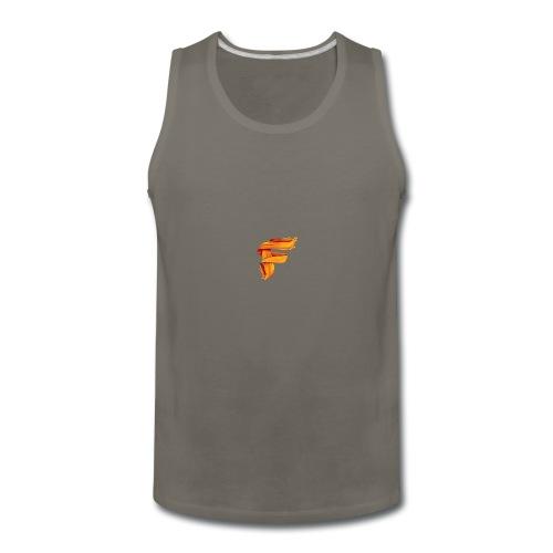 FlameyMC's Logo - Men's Premium Tank