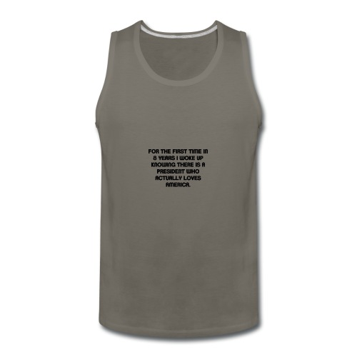 President Loves USA - Men's Premium Tank