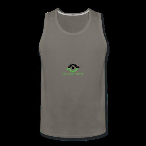 P3D Creations Logo - Men's Premium Tank