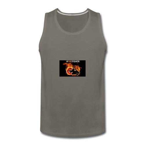 Fire_Fisher - Men's Premium Tank