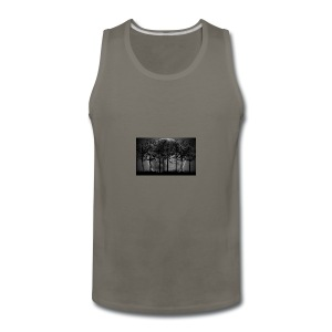 7034869 moon night art - Men's Premium Tank