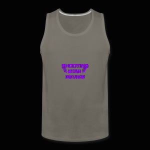 Shooting Star Review Purple Logo - Men's Premium Tank