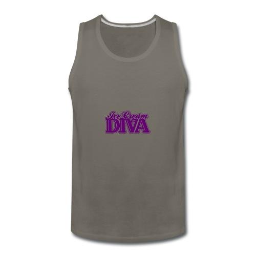 Ice Cream Diva 2 light shirts - Men's Premium Tank