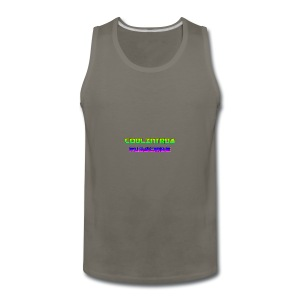 Cool Intros With Subscribe - Men's Premium Tank
