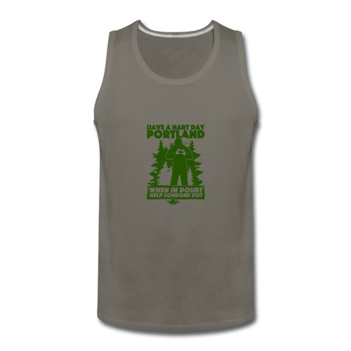 Have A Hart Day Portland - Button Pack - Men's Premium Tank