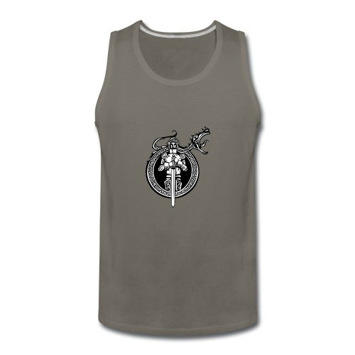 logo knight - Men's Premium Tank