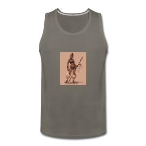 Female Warrior - Men's Premium Tank