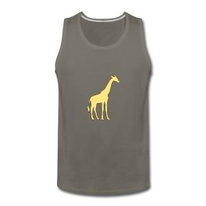yellow giraffe - Men's Premium Tank