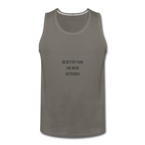 Work Out Apparel - Men's Premium Tank