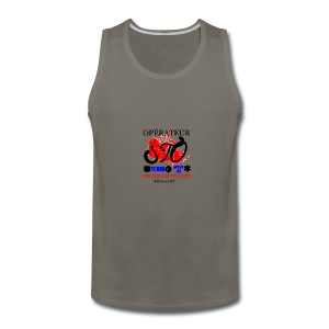 Operateur STO plus size - Men's Premium Tank