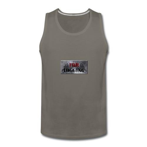 FDR Logging Main Logo - Men's Premium Tank