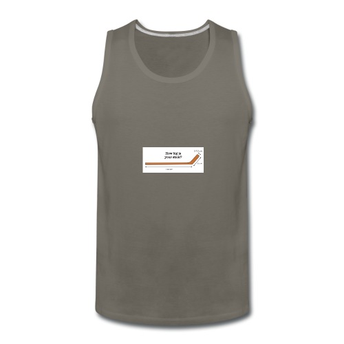 Hockey Stick - Men's Premium Tank