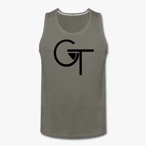 Plain Logo - Men's Premium Tank