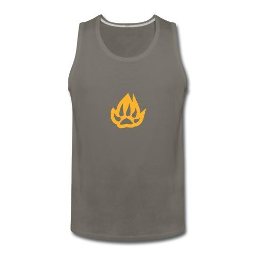paw T-shirts - Men's Premium Tank