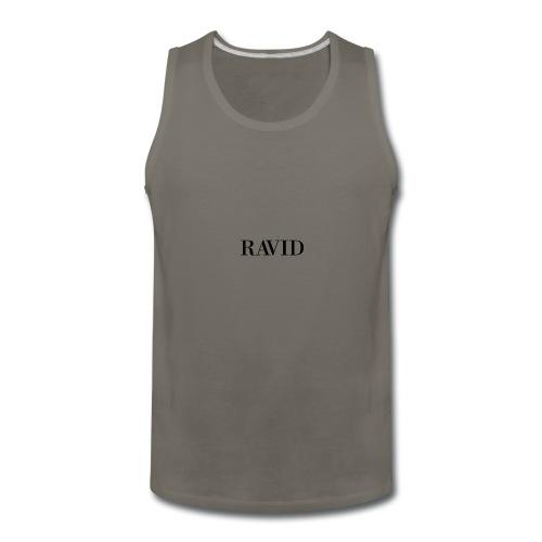 ravid_logo_black - Men's Premium Tank
