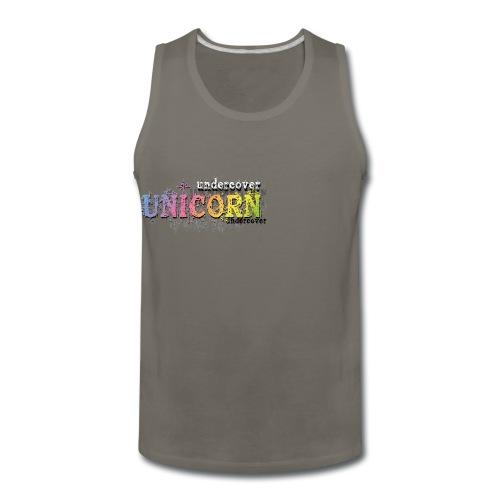 Undercover Unicorn - Men's Premium Tank
