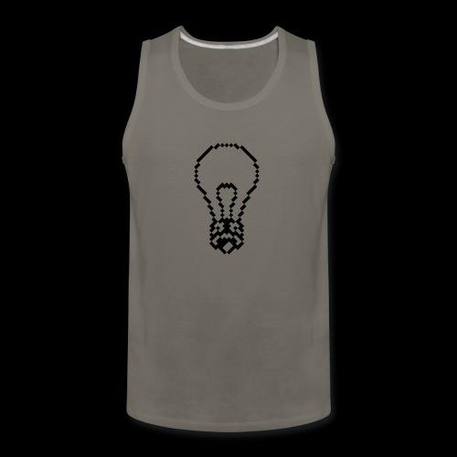 lightbulb by bmx3r - Men's Premium Tank